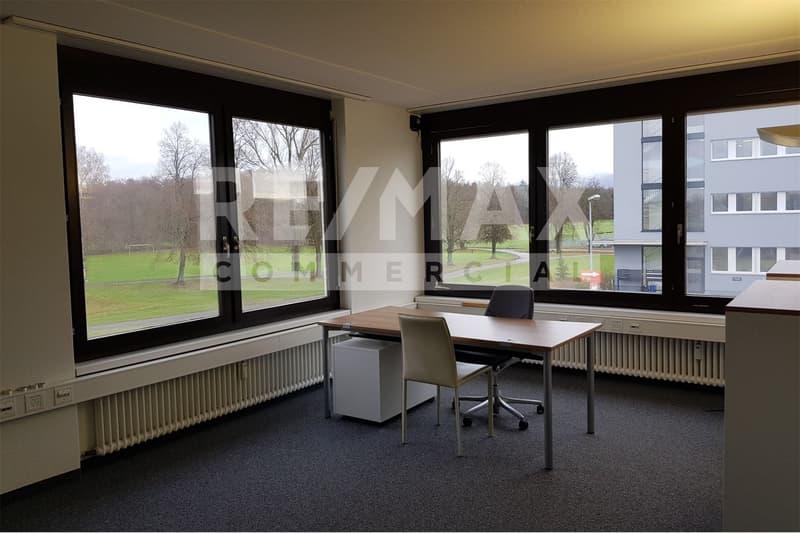 Einzelbüro 18 m² bis 23 m² / Hell & freundlich im Grünen in der Industriezone