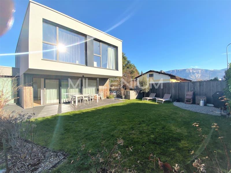 Belle maison moderne de 6 P à Plan Les Ouates.