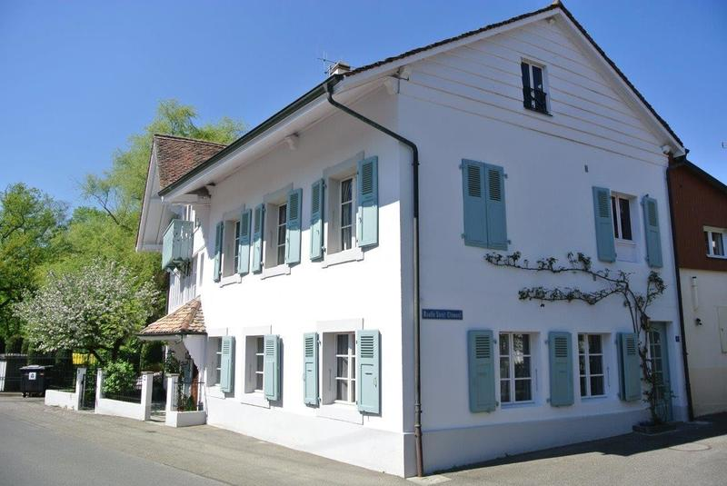 Collex-Bossy, appartement dans maison de village 5 pces, 3 chambres
