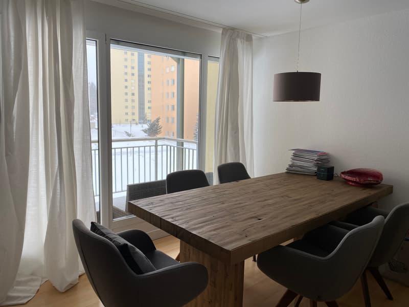 Helle 4.5-Zimmer Wohnung in St. Moritz Bad