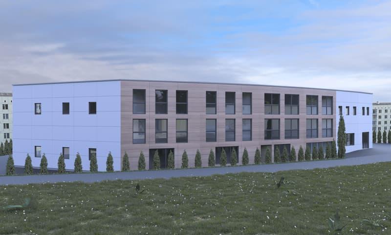 Bâtiment industriel et commercial NEUF de 1400 m2 à louer à Etagnières