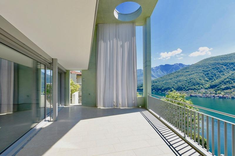Moderna Villa a Schiera con Vista Lago in affitto a Vico Morcote