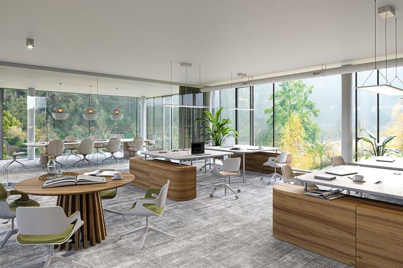 Büroräume - flexibel unterteilbar