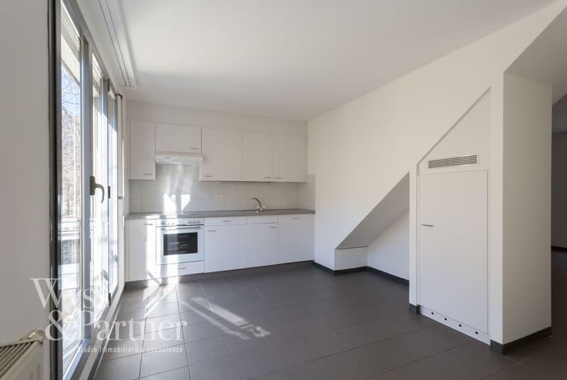Biasca - luminiso appartamento duplex - possibilità di sussidio