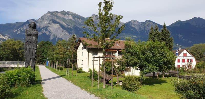 Baulandreserve auf Grundstück mit Mehrfamilienhaus