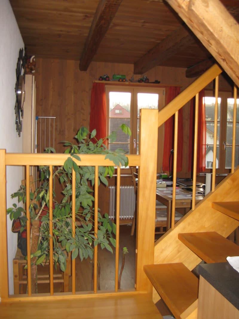 Gemütliche 3½-Zi-Wohnung im DG