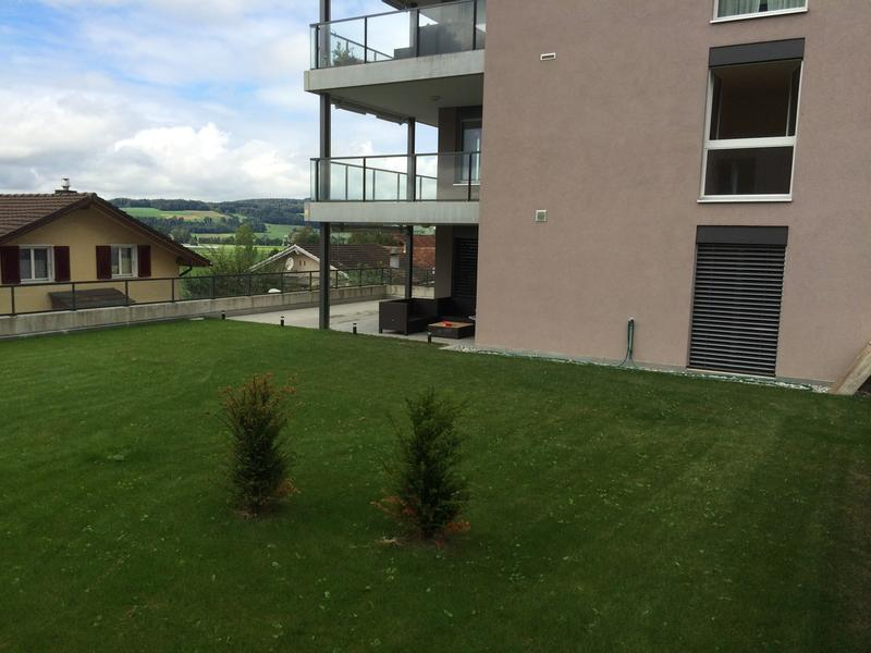 3 1/2 Zi-Terrassenwohnung mit grossem Garten
