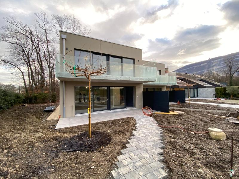 villas mitoyennes - location – Vessy – dès 6'500.—CHF par mois + charges SIG