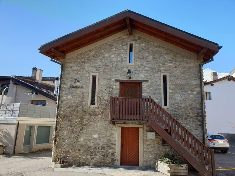 Plan-Conthey, maison de 2.5 pièces au coeur du hameau