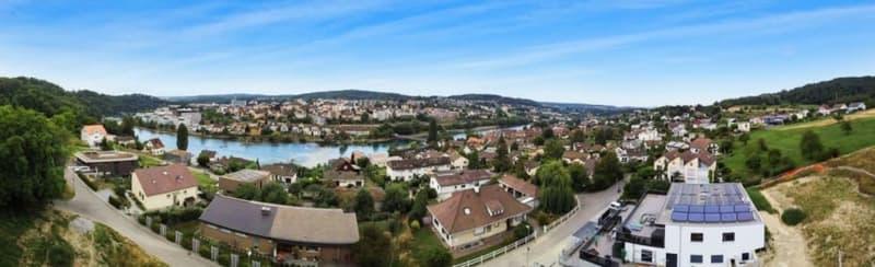 Panorama über den Dächern von Flurlingen