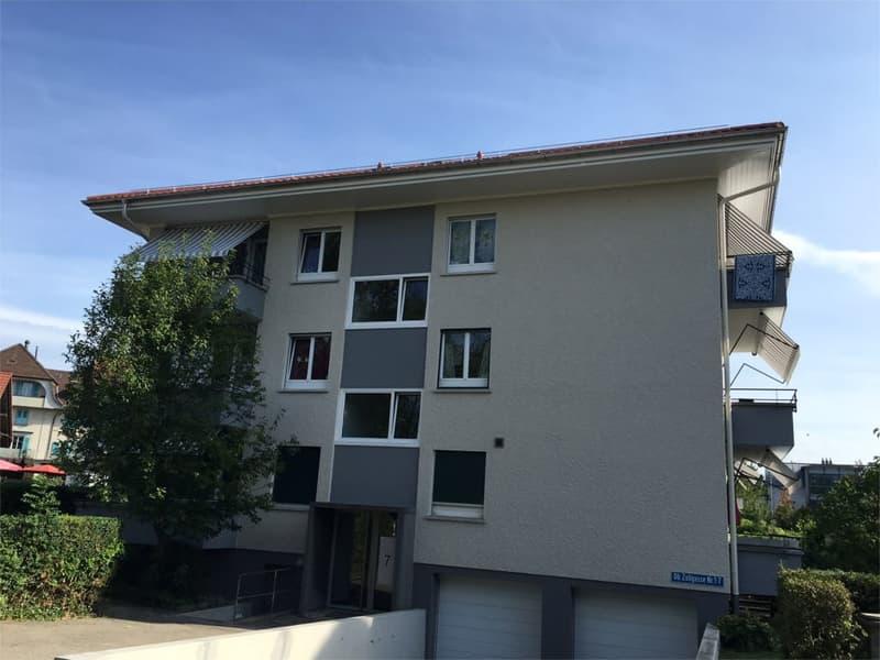 3-Zimmerwohnung inklusive Mansarde und WC im Dachgeschoss