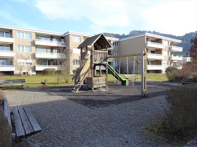 Stadt trifft auf Natur - 3.5-Zimmerwohnung am Dorfrand von Bolligen