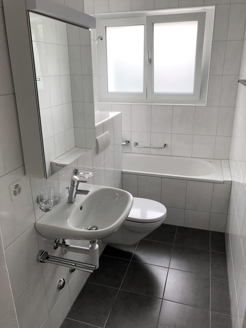 Praktische renovierte 3-Zimmer-Wohnung