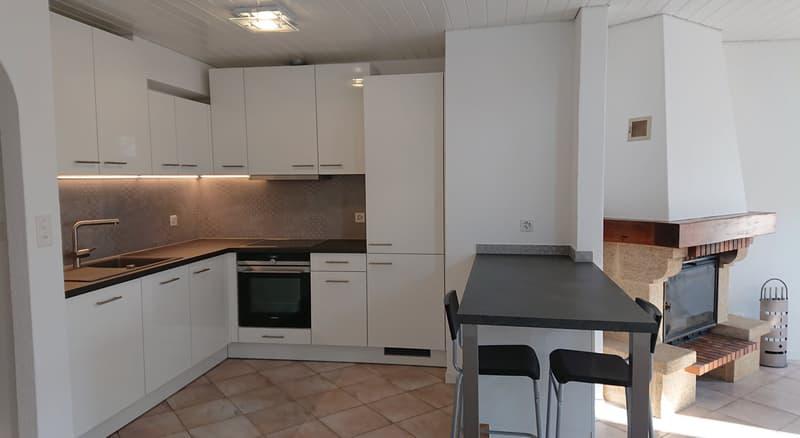 Cosy appartement de 3.5 pièces au coeur du village