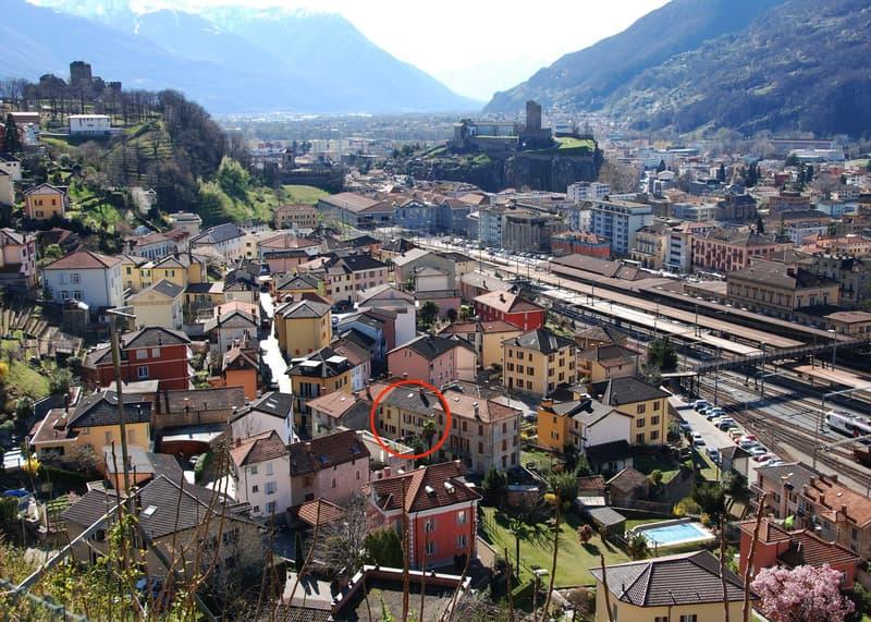 Nuovo appartamento 3,5 locali a due passi dalla Stazione FFS di Bellinzona (residenza primaria o secondaria)