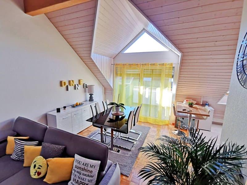 Magnifique appart 4 p / 2 chambres / 1 SDB / mezzanine / balcon