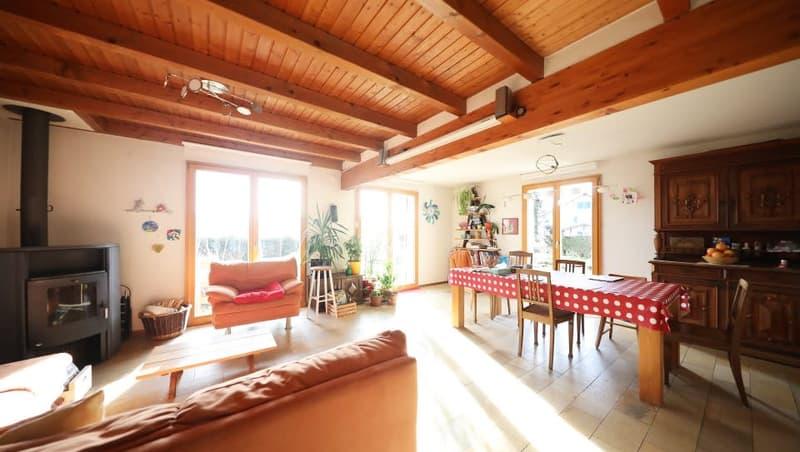 Magnifique maison meublée 6p / 4 chambres - Combles et bureau / Jardin