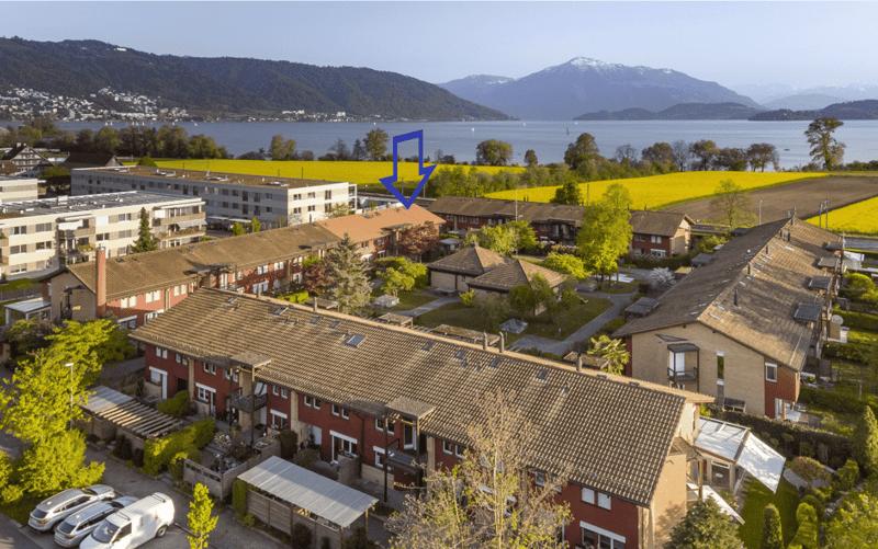 Sehr grosses Einfamilienhaus im schönsten Familienquartier von Zug