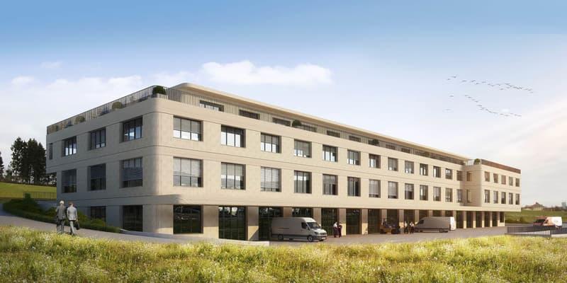 NEUBAU - 25 Gewerbe-/Büroflächen, 164.5 bis 534.5 m²
