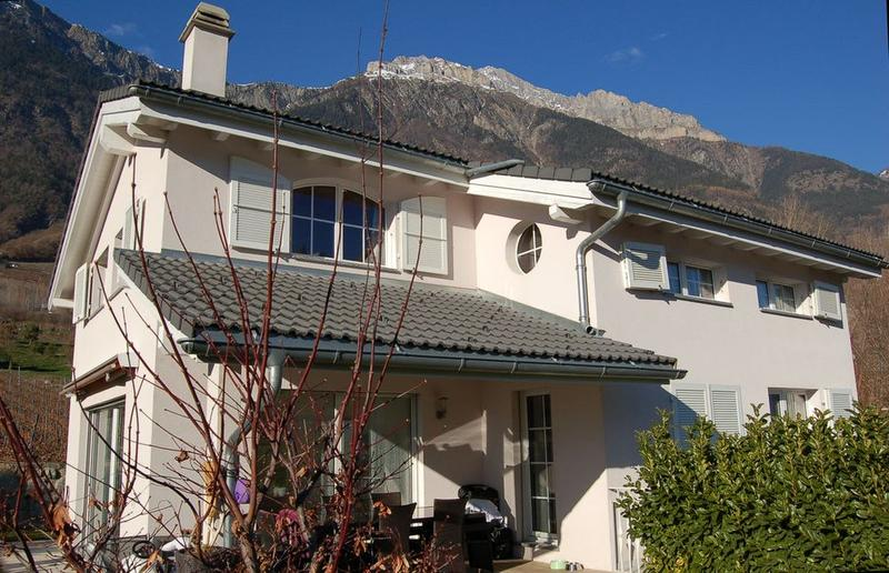 A VENDRE SPLENDIDE VILLA D'ARCHITECTE 6.5 PCES A FULLY