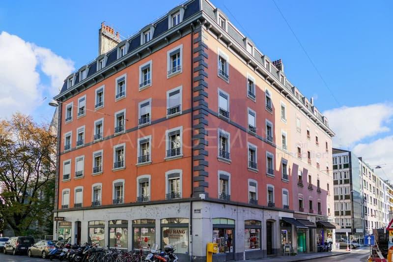 Pâquis, rue de Monthoux, 4 pièces au 2ème étage