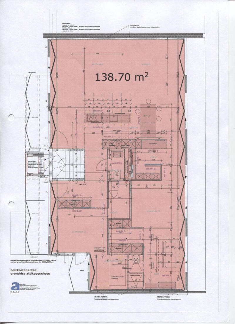 Attika- Loftwohnung mit Jacuzzi auf der Dachzinne