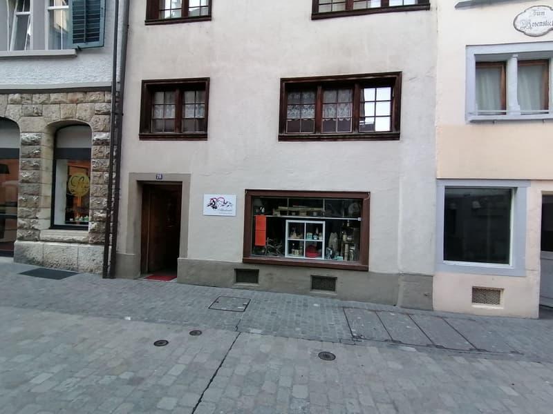 Ladenlokal mitten in der Altstadt von Schaffhausen