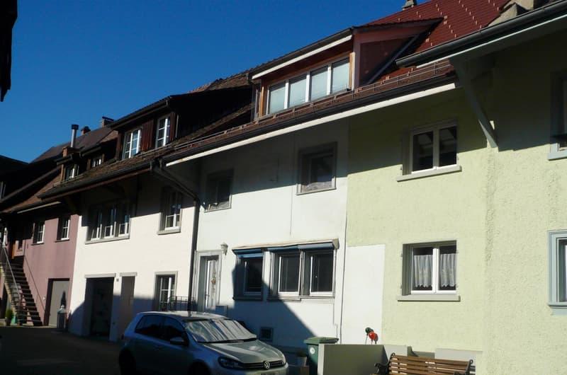 Grosser Familiengarten mit Reihen-Mittelhaus und 3 PP