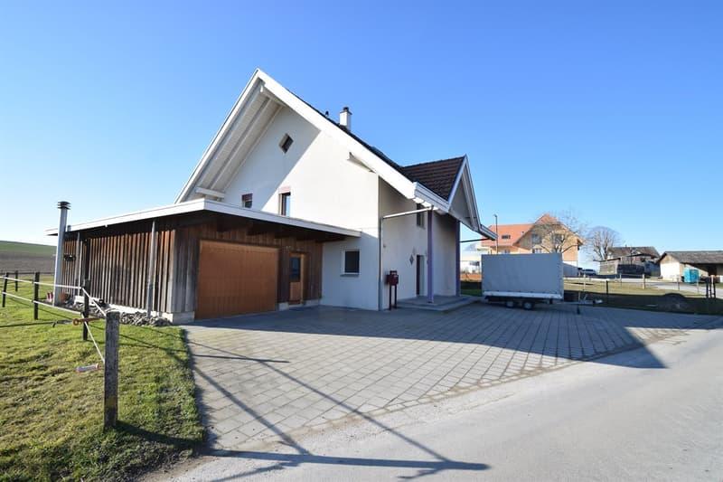 Idylisches Einfamilienhaus im Minergie-Standart