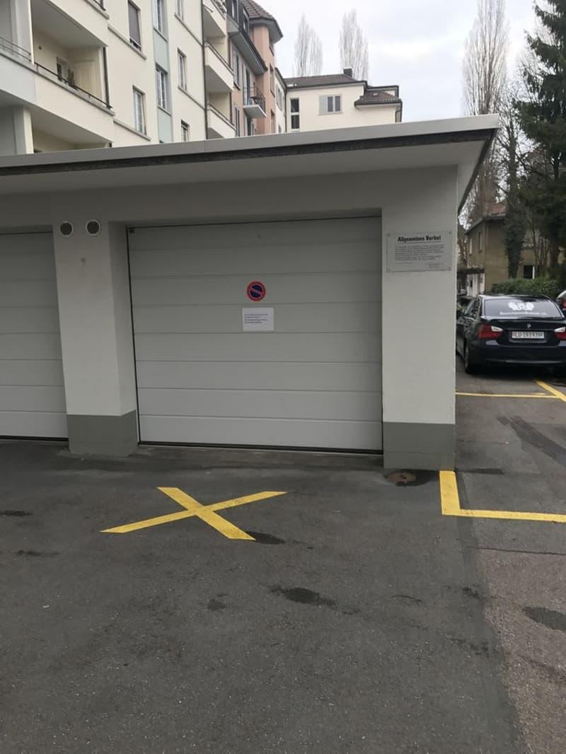 Garagenbox zu vermieten