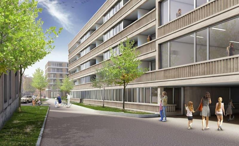 « Le Jardin des Citadines » Promotion de logements protégés à Morges