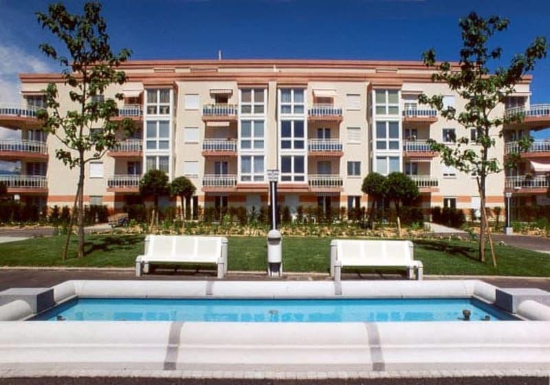 Quartier des Fontaines à Nyon - 2 pièces - 3ème étage - balcon (1)