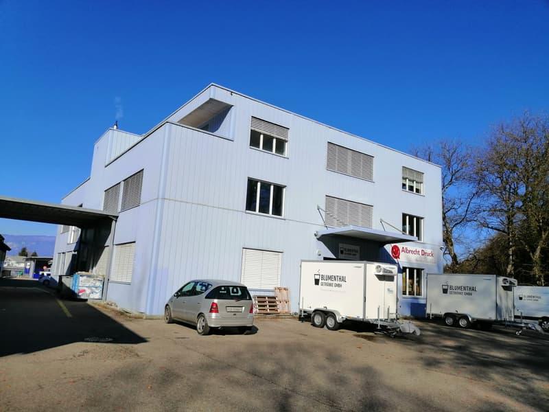 Gewerbe-/Büro-/Lagerräume mit Lastenaufzug/Fassadenzugang, 2 Dachterrassen und 20 Parkplätzen