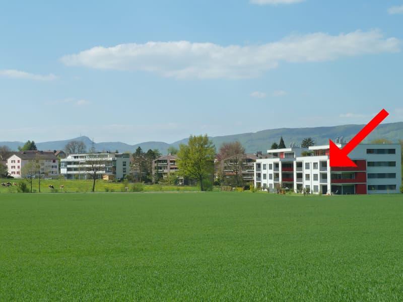Eigentumswohnung an unverbaubarer Lage mit Aussicht ins Grüne (1)