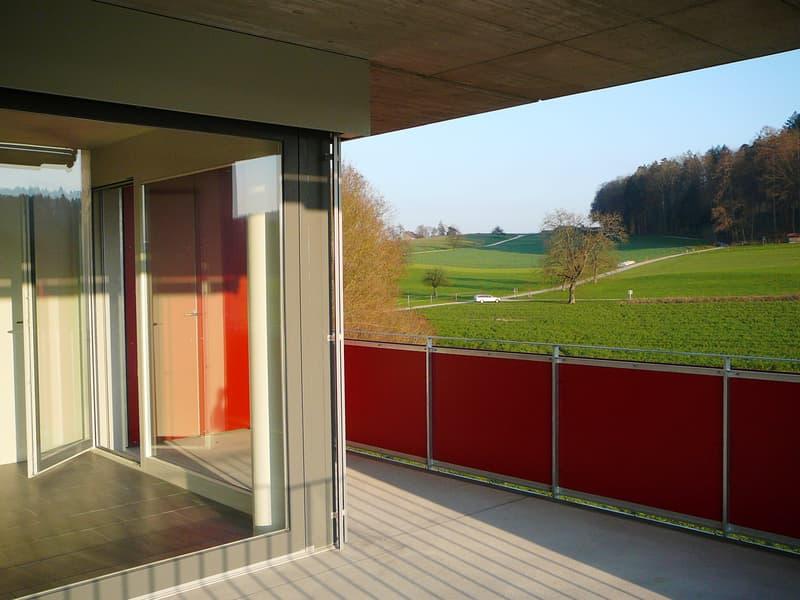 Eigentumswohnung an unverbaubarer Lage mit Aussicht ins Grüne (4)