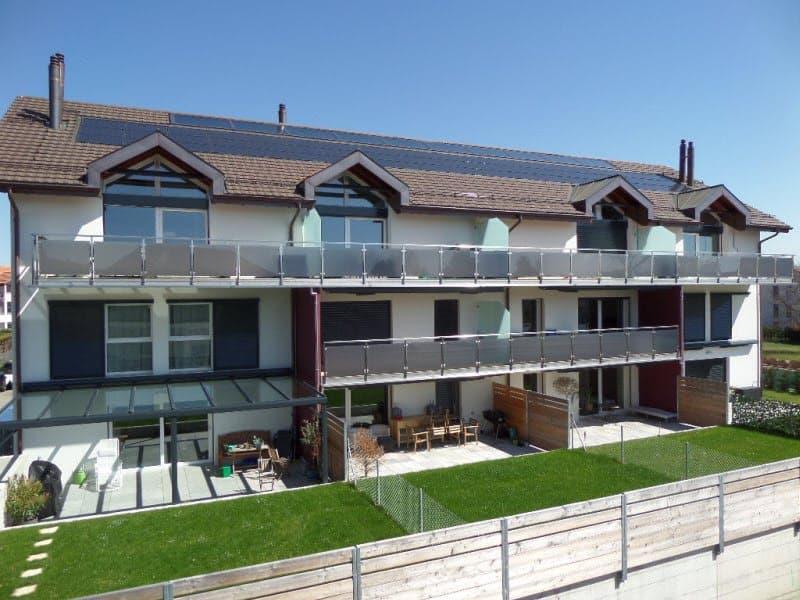 NYON / EYSINS  - SUPERBE DUPLEX 4 1/2 pièces + cuisine avec terrasse/jardin