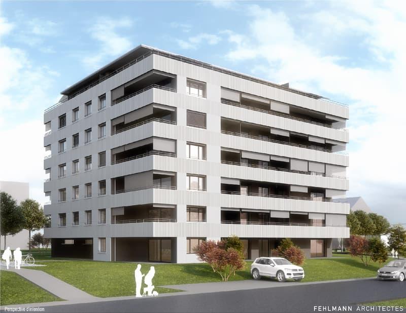 Nouvelle construction - Appartement de 2.5 pièces - Yverdon-les-Bains