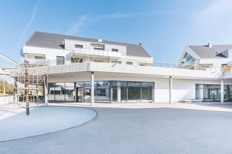 Über 800 m² Gewerbefläche für den Ausbau bereit
