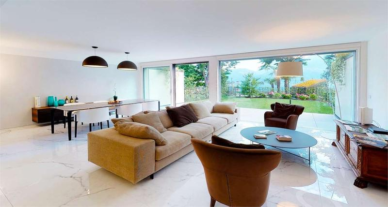 Nuova villa in residence a lago