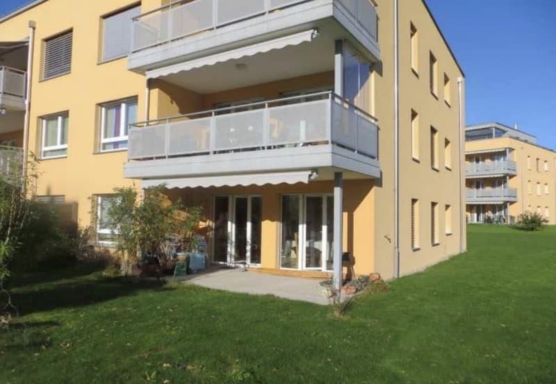 Appartement récent, grand jardin, à proximité immédiate du centre de Fribourg