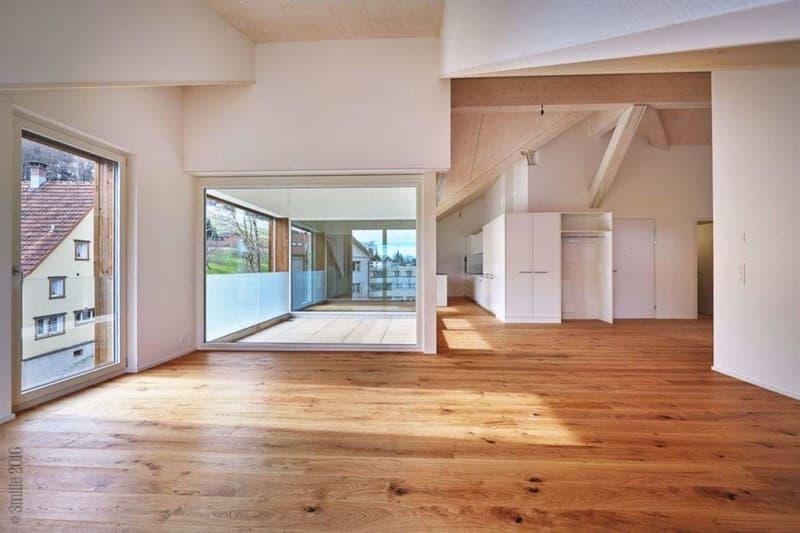 3.5 Zimmerwohnung im Appenzeller-Baustil zu vermieten