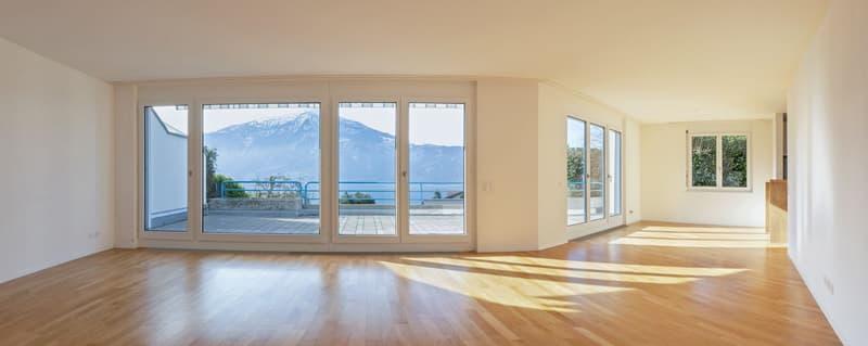 Einfamilienhaus mit schöner Seesicht und grossem Garten (1)