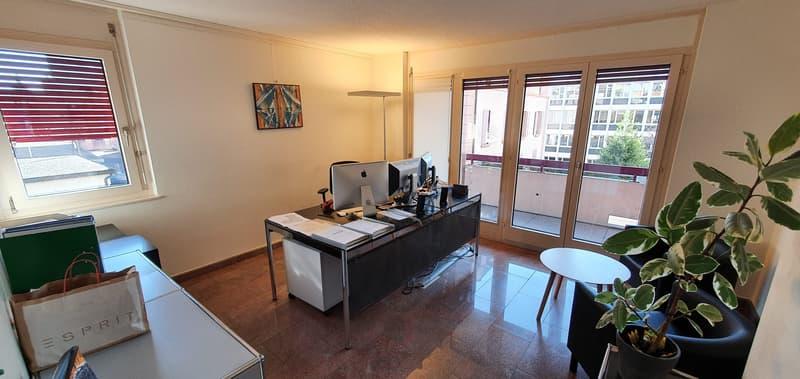 Beaux bureaux de 160m2 au centre de Lausanne à partager (1)
