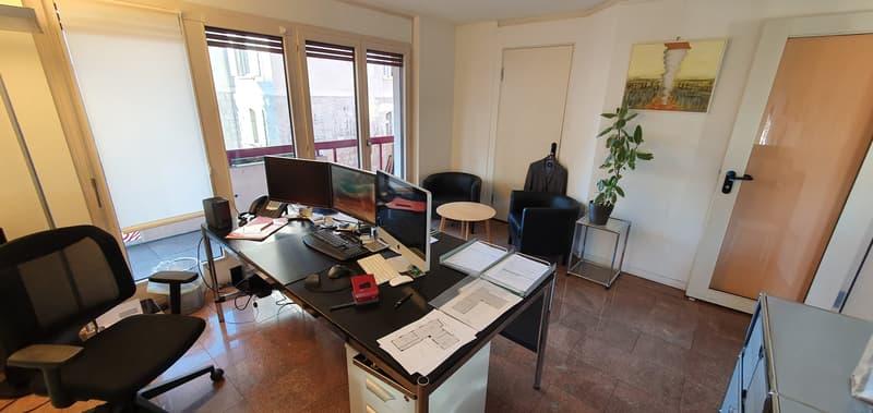 Beaux bureaux de 160m2 au centre de Lausanne à partager (2)