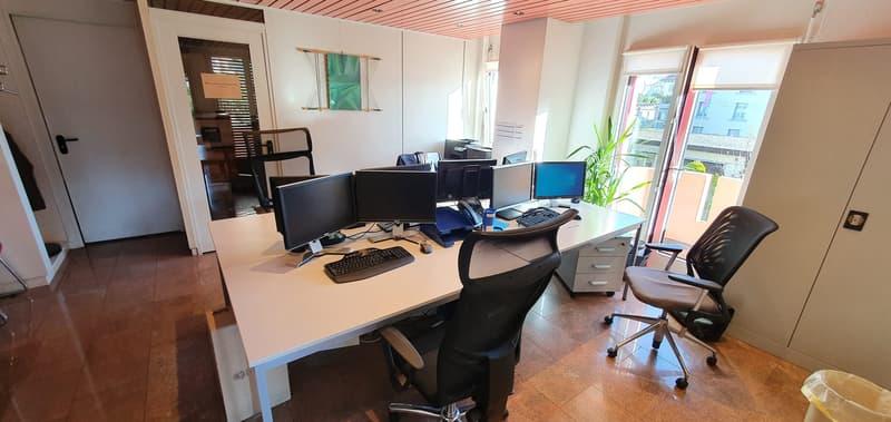 Beaux bureaux de 160m2 au centre de Lausanne à partager (3)