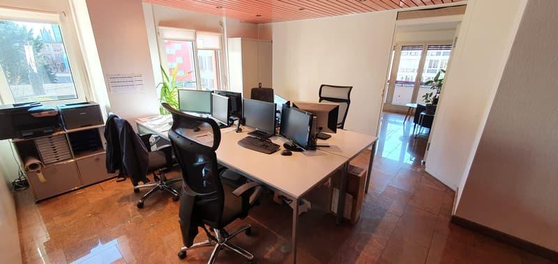 Beaux bureaux de 160m2 au centre de Lausanne à partager (4)