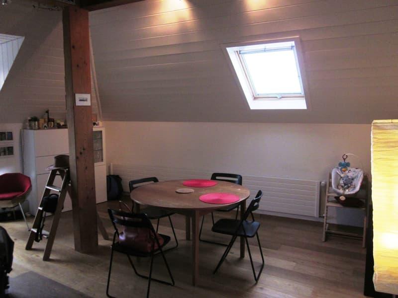 Bourg de Lutry : Appartement lumineux traversant avec cachet (4)