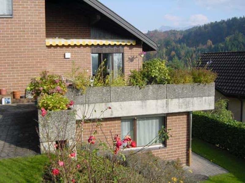 2,5 Zimmer Einliegerwohnung mit Cheminée und Gartensitzplatz