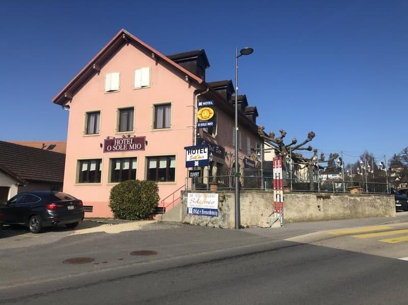 Immeuble pour investisseur / Restaurant-Hotel
