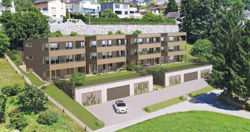 Sonnige, helle 2.5 Zimmer-Garten-Wohnungen mit vielen Extras